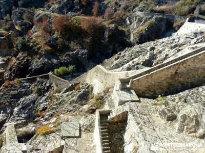 Hospitalillo a El Atazar; Senda Genaro; lagunas de gredos puente almudena material trekking